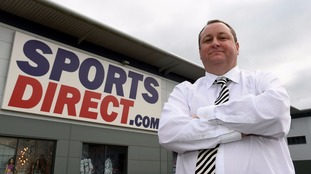 Jeremy Corbyn will warn business figures like Sports Direct owner Mike Ashley would suffer from a Labour victory.