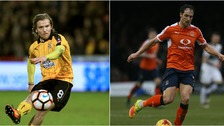 Luke Berry (left) and Danny Hylton (right) have both had fantastic seasons.