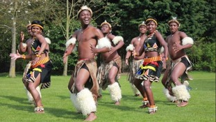 The Lions of Zululand in North East visit