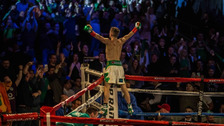Conlan marked his St Patrick's Day debut with a KO win.