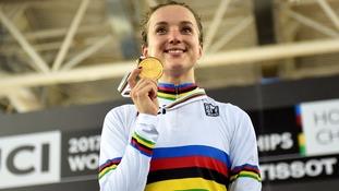 World champion cyclist Elinor Barker: Success due to support from local club