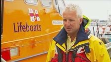 Former RNLI Coxswain Andy Hibbs