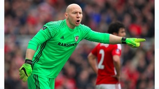 Brad Guzan backed to step into Victor Valdes' boots