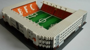 Model of Bloomfield Road