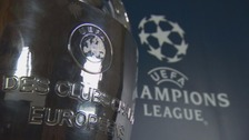 Champions League trophy arrives in Cardiff