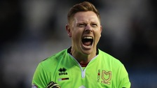 David Martin will leave MK Dons in the summer.