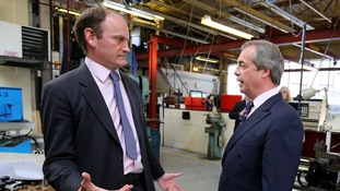 Carswell and Farage had a number of disagreements.