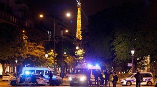 The gunman used a 'war weapon', a spokesman said