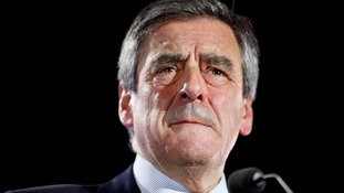 Francois Fillon has confirmed his campaign events are cancelled