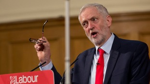 Corbyn turns campaign focus to 'super-sized' school classes