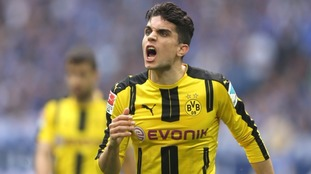 Dortmund player Marc Bartra broke a wrist in the explosion.