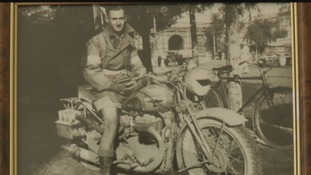 Meet the last World War Two motorcycle dispatch rider