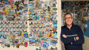 Britain's biggest collection of fridge magnets held by Cardiff man
