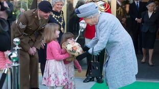 The Queen attends hundreds of events a year