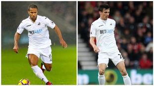 Routledge and Cork to miss out as Swansea welcome Stoke