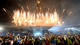 Glasgow played host to the Commonwealth Games in 2014.