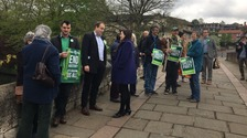 The Green Party have launched their Election campaign in Norfolk
