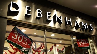 Hundreds of Debenhams jobs are at risk in the firm's store and warehouse overhaul.