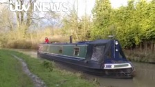 Reporter gives up news for life on narrowboat