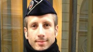 Police officer Xavier Jugele was killed in the attack.