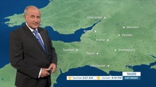 Bob Crampton with the weather.