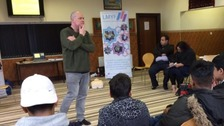 The first Street Safe workshop takes place in Harehills.