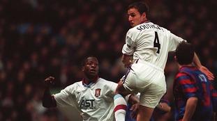 Southgate and Ehiogu played together at Aston Villa.
