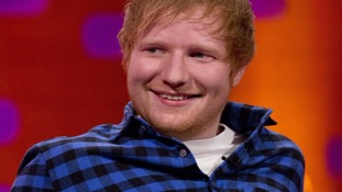 Ed Sheeran bounces back to number one after being knocked off top spot last week