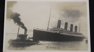 Rare Titanic memorabilia expected to fetch thousands at auction