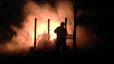 Arson attack destroys school play area