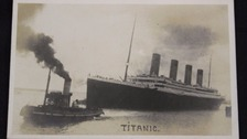 Rare Titanic memorabilia up for auction
