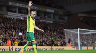 Alex Pritchard put in a man of the match performance at Carrow Road.