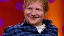 Ed Sheeran bounces back to number one after being knocked off top spot