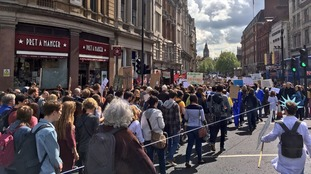 Thousands take to the streets to march for science