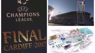 Cardiff fanzone will not show Champions League final