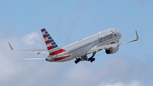 American Airlines suspends employee after heated row over pram