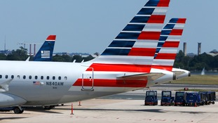 American Airlines has apologised to the woman