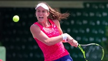 Fed Cup: British tennis star Konta in tears as Romania coach sent off