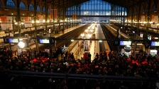 File photo of Paris' Gare du Nord station.