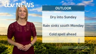 Saturday's weather update with Kerrie