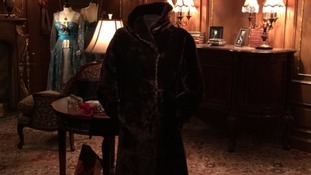 The fur coat was worn by Mabel Bennett.