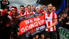 Lincoln City promoted to English Football League