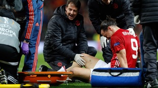 Manchester United confirm serious injuries for Ibrahimovic and Rojo