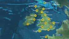 Weather: Largely dry but turning colder and more unsettled