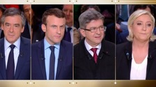 France goes to the polls in tight election race