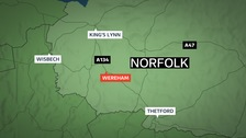 Two suffer serious injuries in West Norfolk crash