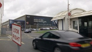 The BMW plant in Swindon