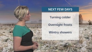 Snow warning for central and northern Scotland on Monday