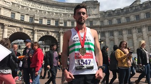 Swansea marathon hero says helping exhausted athlete more important than time