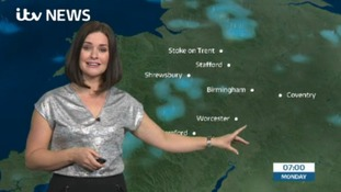 West Midlands Weather: Overcast with rain
